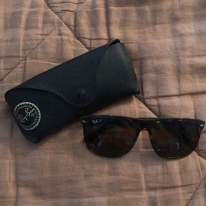 Ray-Ban Accessories - Ray-Ban Tortoise Polarized Sunglasses